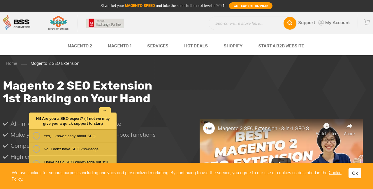 Magento 2 SEO Extension by BSS Commmerce Screenshot