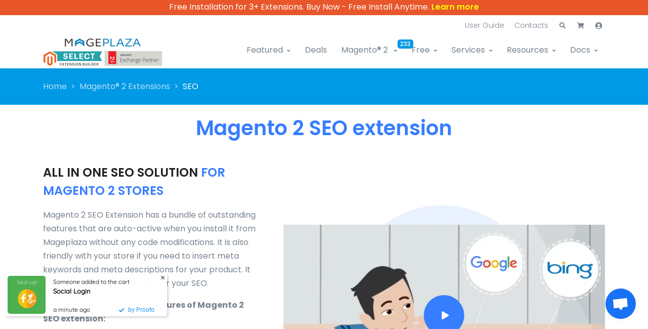 Magento 2 SEO Extension by Mageplaza Screenshot